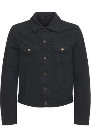 Saint Laurent Man Jeansjackor - Fitted Cotton Denim Jacket