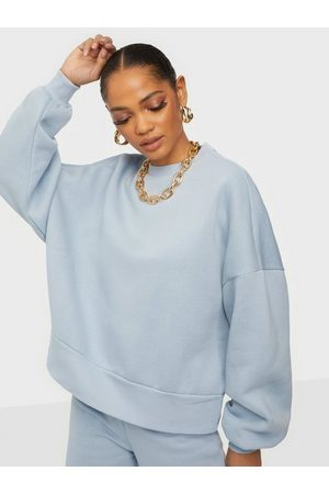 NLY Trend Kvinna Sweatshirts - Got It Sweat Sweatshirts Ljus