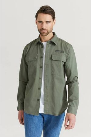 Woodbird Man Casual - Overshirt Hoxen Work Shirt
