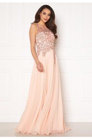 Christian Koehlert Paris Kvinna Festklänningar - Alexandria Embellished Dress Pearl Pink 42