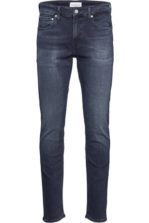 Calvin Klein Slim Slimmade Jeans Blå