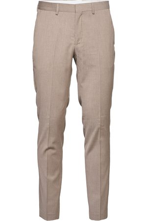 Selected Slhslim-Mylobill Sand Structure Trs H B Casual Byxor Vardsgsbyxor