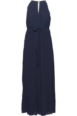 Vila Vikatelyn Halterneck Dress/Dc/Su Dresses Evening Dresses Grön