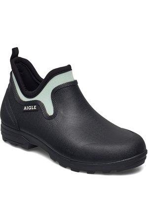 Aigle Ai Lessfor Plus Marine/Wave Regnstövlar Skor