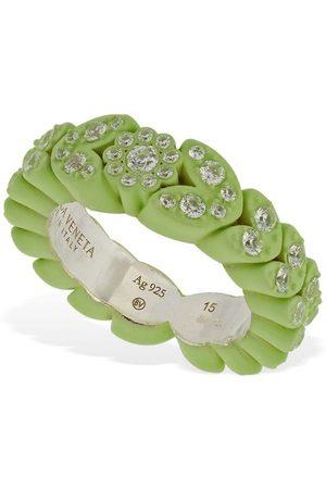 Bottega Veneta Flower Band Ring