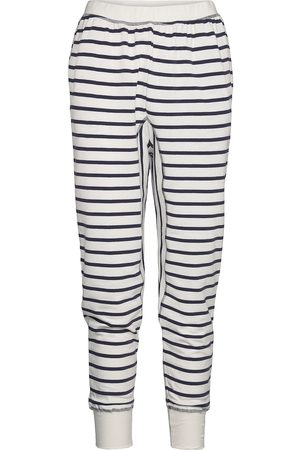 Moshi Moshi Mind Angel Pants Stripe Sweatpants Mjukisbyxor Svart