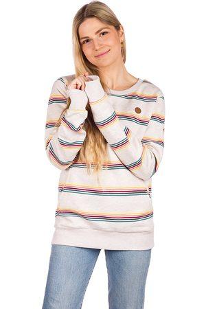 Kazane Daven Sweater oatmeal/stripe