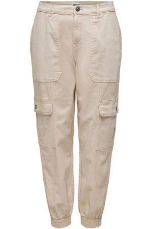 Only Onlgigi Cargo Life Loose Hw Skinny Fit-jeans Kvinna