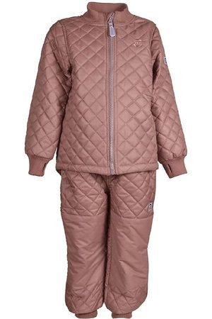 Mikk-Line Flicka Skidkläder - Termokläder - Burlwood