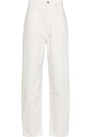 Isabel Marant Kvinna High waist - Corfy high-rise straight jeans