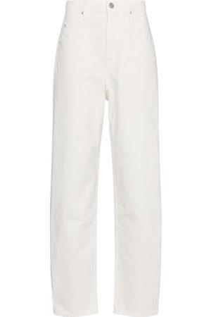 Isabel Marant Kvinna High waist - Corfy high-rise straight jeans