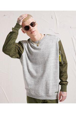 Superdry Man Sweatshirts - Tech Code rundhalsad sweatshirt
