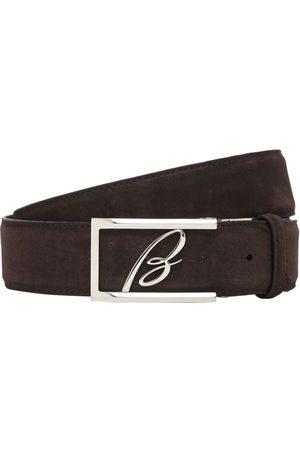 BRIONI Man Bälten - 3.5cm New Elty Leather Belt