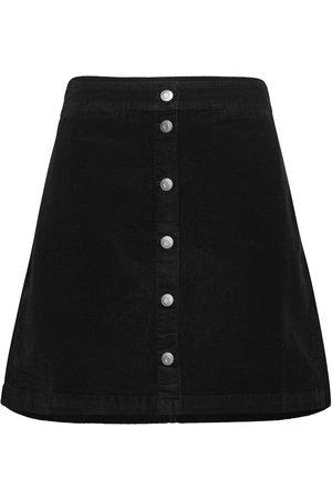 J.Crew Kvinna Minikjolar - Garment Dye Corduroy Button-Front Mini. Kort Kjol