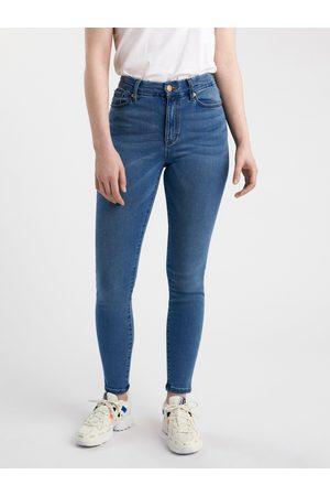 Lindex Kvinna High waist - CLARA Curve superstretch-jeans med high waist