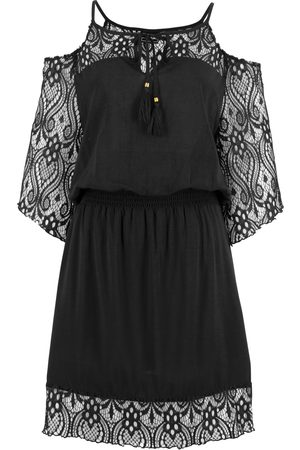 bonprix Kvinna Strandklänningar - Cold-shoulder-klänning