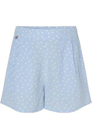Rosemunde Shorts - Heather Sky Organic Dot