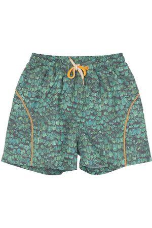 Mini A Ture Badshorts - Hawaii - UV50+ - Oil Green