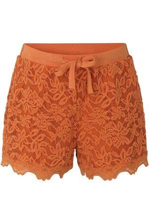 Rosemunde Flicka Shorts - Shorts - Dusty m. Spetsar