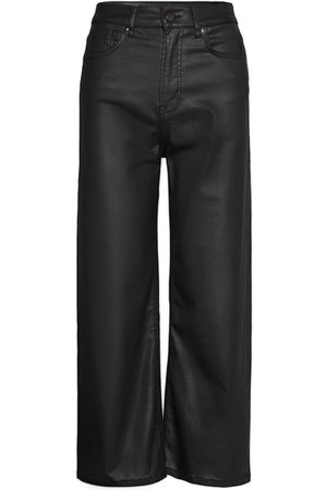 Pepe Jeans Kvinna Leggings - Lexa Gloss Leather Leggings/Byxor Svart