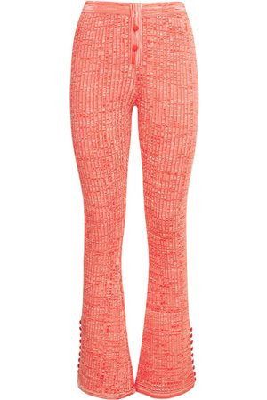 LIVE THE PROCESS Marl Flared Leggings