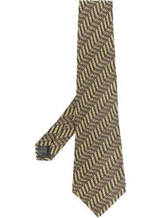 Jean Paul Gaultier Geometric-print tie