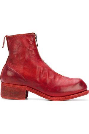 GUIDI Kvinna Ankelboots - Front zip ankle boots