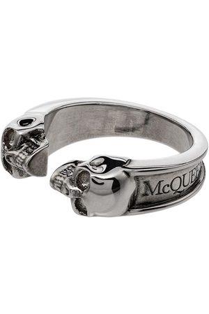 Alexander McQueen Man Ringar - Ring med dödskallar