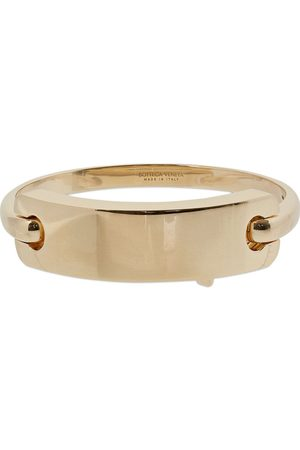 Bottega Veneta Tag Rigid Bracelet
