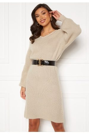 Rut & Circle Miranda Knit Dress Light L
