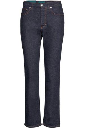 Self Cinema Kvinna Slim - Womens Slim Straight Jean Slimmade Jeans