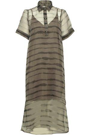 Just Female Moca Polo Dress Dresses Everyday Dresses Grön