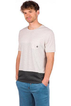 Kazane Erik T-Shirt grey/oatmeal