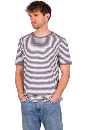 Kazane Arvid T-Shirt folkstone gray/white
