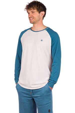 Kazane Brock Long Sleeve T-Shirt oatmeal heather/midnight