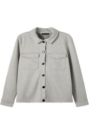 LMTD Skjorta - NlmRoger - Ljusgrå Melerad