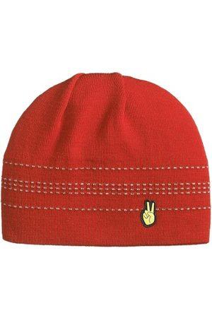 seger A2 Hat Röd ull One Size