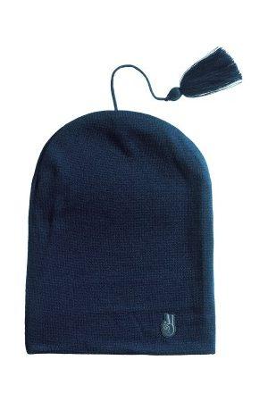seger Nisse Hat Blå acryl One Size