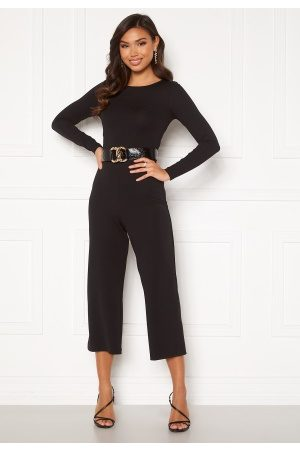 BUBBLEROOM Kvinna Playsuits - Vanda jumpsuit Black 42