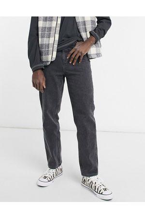 ASOS – Svarta, urtvättade jeans med hög midja