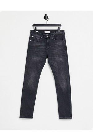 Calvin Klein – Bleksvarta skinny jeans