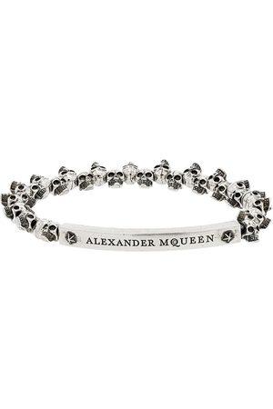 Alexander McQueen Man Armband - Armband med liten dödskalle