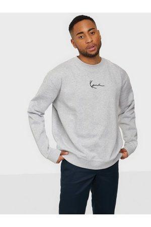 Karl Kani Man Sweatshirts - Signature Crew Tröjor Grey