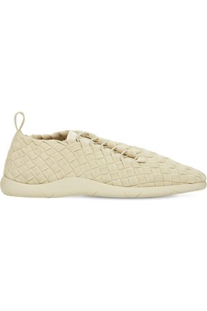 Bottega Veneta Man Sneakers - Intrecciato Tech Low Top Sneakers