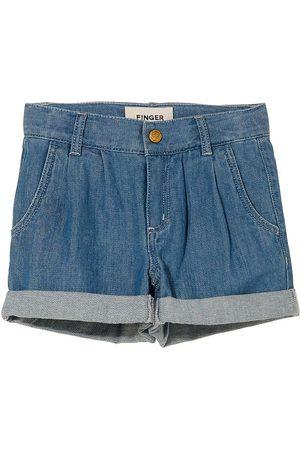 Finger in The Nose Shorts - Denim - Marlie - Bleached Blue