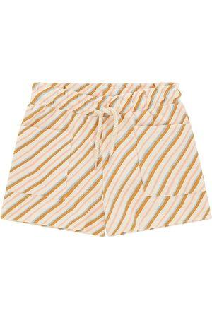Soft Gallery Shorts - Heidi - Gardenia m. Curry