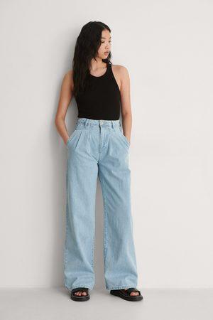 Trendyol Plisserade Jeans Med Hög Midja