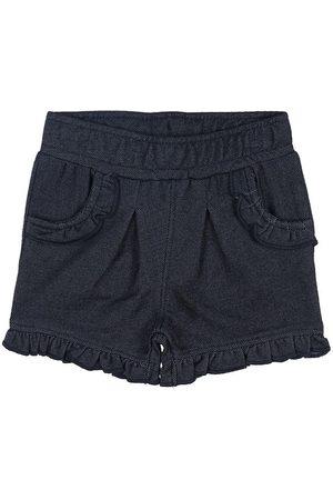 Minymo Shorts - Marinblå Denim