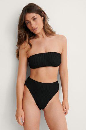 NA-KD Kvinna Bikinis - Smocked High Waist Bikini Panty