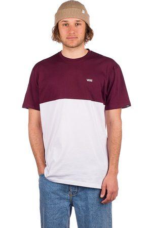 Vans Man Kortärmade - Colorblock T-Shirt white/port royale